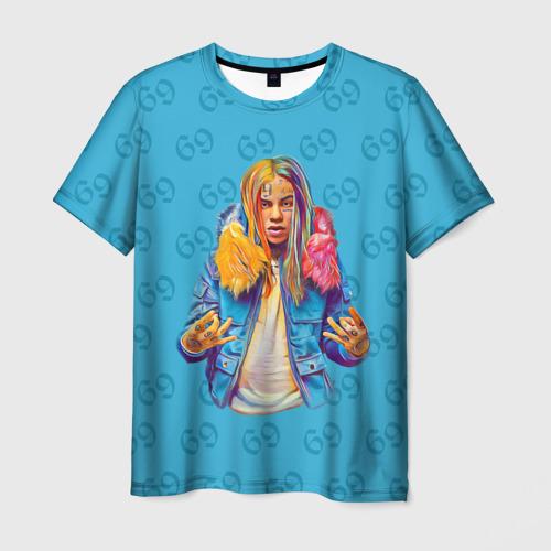 Мужская футболка 3D 6IX9INE 69