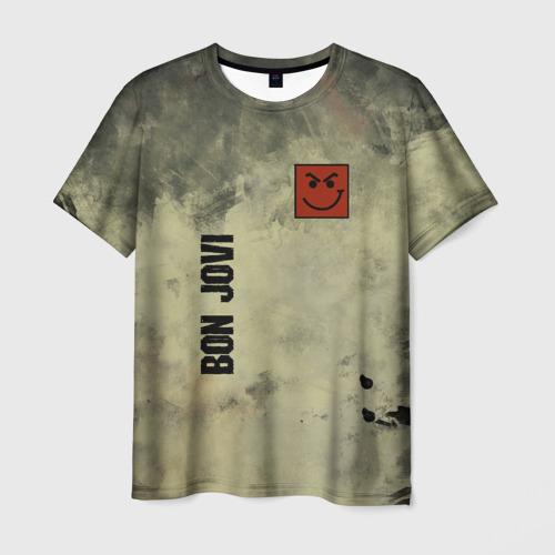 Мужская футболка 3D Bon Jovi