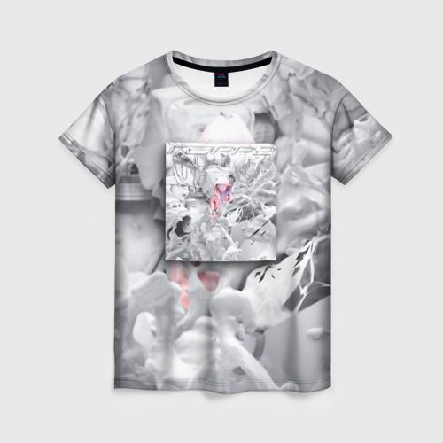 Женская футболка 3D Boulevard Depo RAPP2
