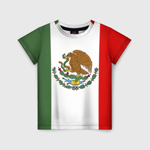 Детская футболка 3D Мексика Чемпионат Мира