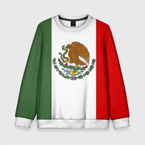 Детский свитшот 3D Мексика Чемпионат Мира