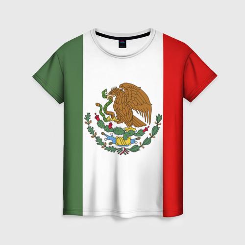 Женская футболка 3D Мексика Чемпионат Мира
