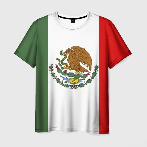 Мужская футболка 3D Мексика Чемпионат Мира