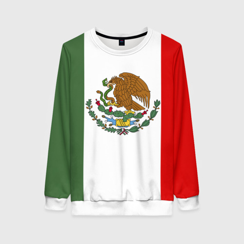 Женский свитшот 3D Мексика Чемпионат Мира
