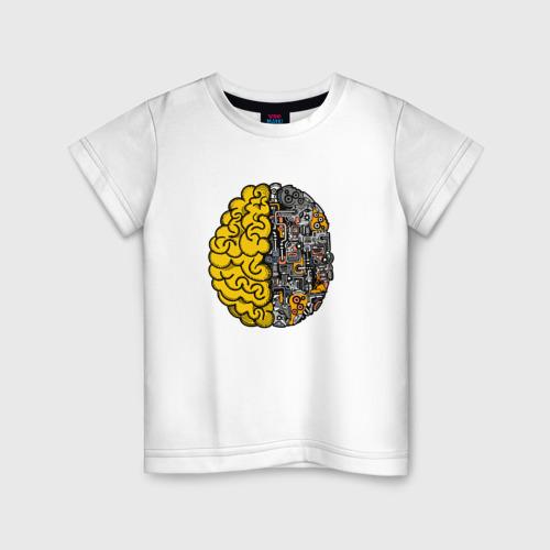 Детская футболка хлопок Мозг