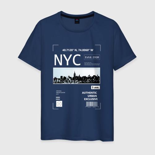 Мужская футболка хлопок Нью Йорк