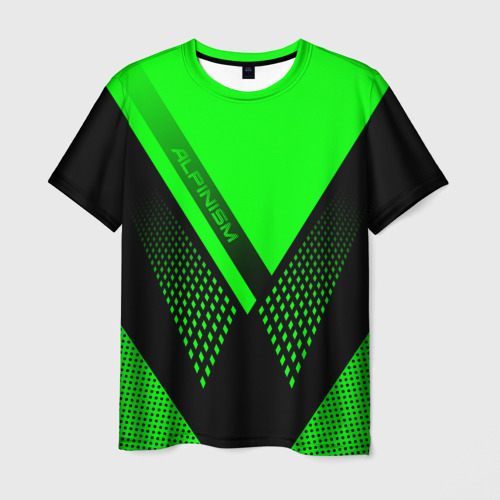 Мужская футболка 3D Alpinism