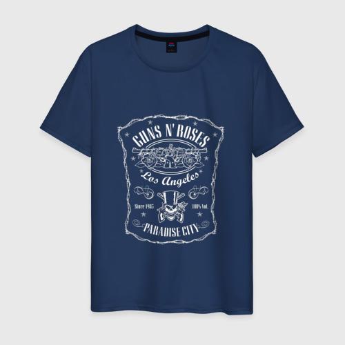 Мужская футболка хлопок GunsN'Roses