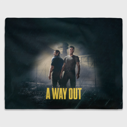 Плед 3D A WAY OUT