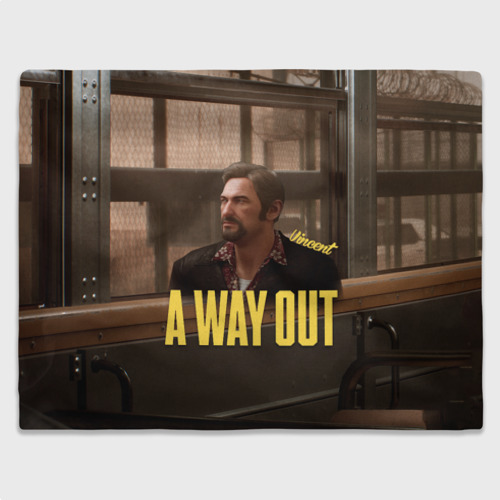 Плед 3D A Way Out Vincent