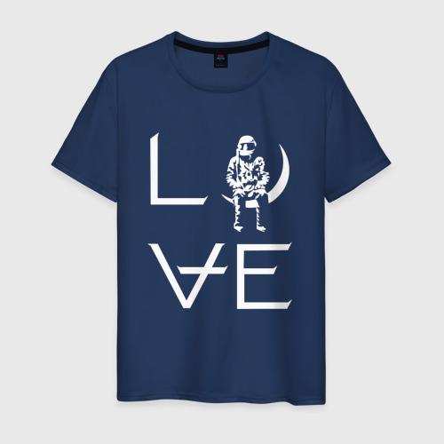 Мужская футболка хлопок Love