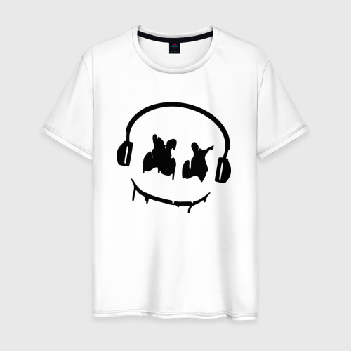 Мужская футболка хлопок Music
