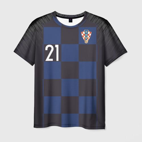 Мужская футболка 3D Домагой Вида away WC 2018
