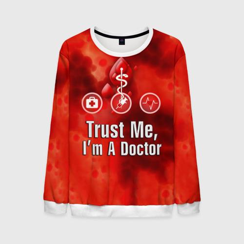 Мужской свитшот 3D Доктор