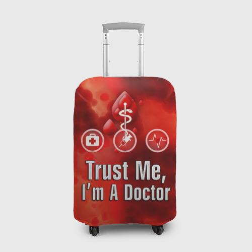 Чехол для чемодана 3D Доктор