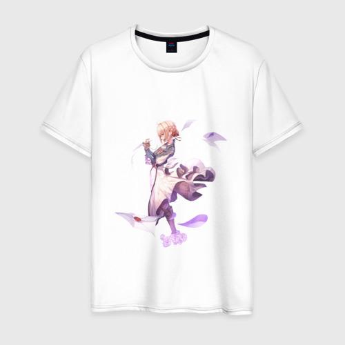 Мужская футболка хлопок Violet Evergarden