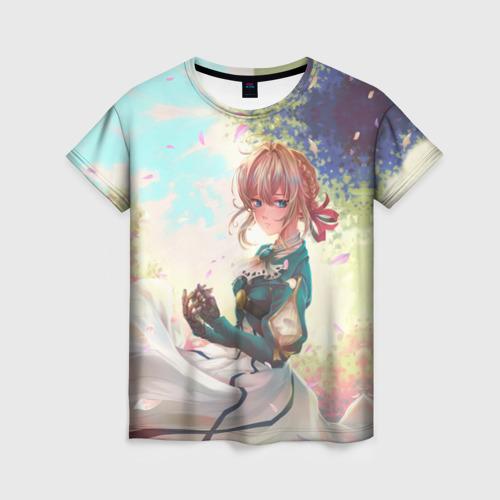 Женская футболка 3D Violet Evergarden_8