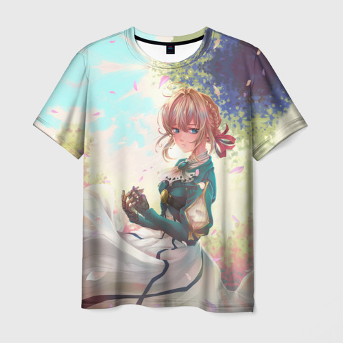 Мужская футболка 3D Violet Evergarden_8
