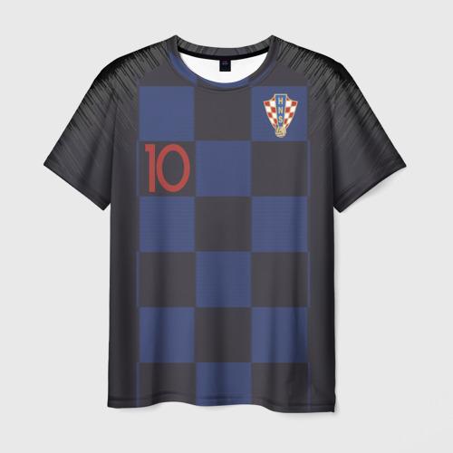 Мужская футболка 3D Modric away  WC 2018
