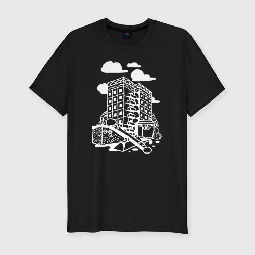 Мужская футболка хлопок Slim Панелька