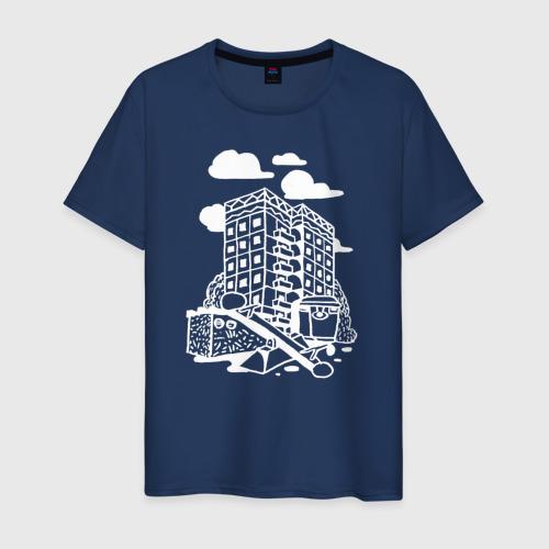 Мужская футболка хлопок Панелька