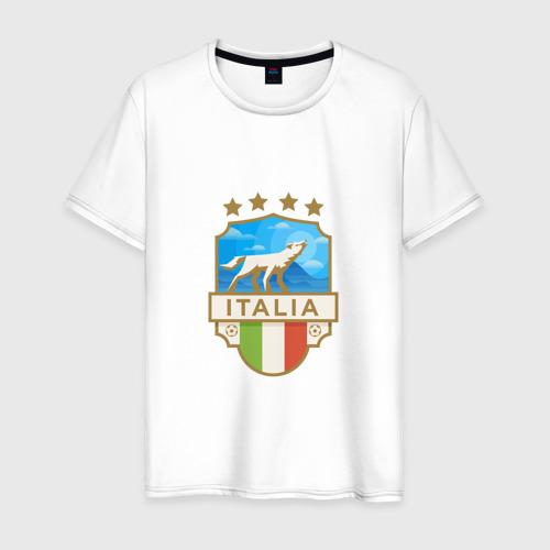 Мужская футболка хлопок Футбол - Италия
