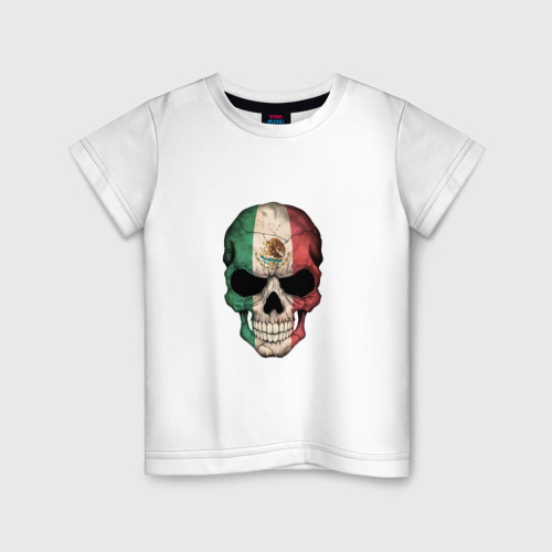 Детская футболка хлопок Череп - Мексика