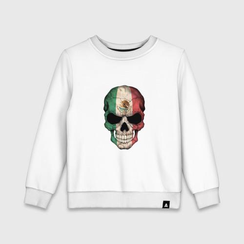 Детский свитшот хлопок Череп - Мексика