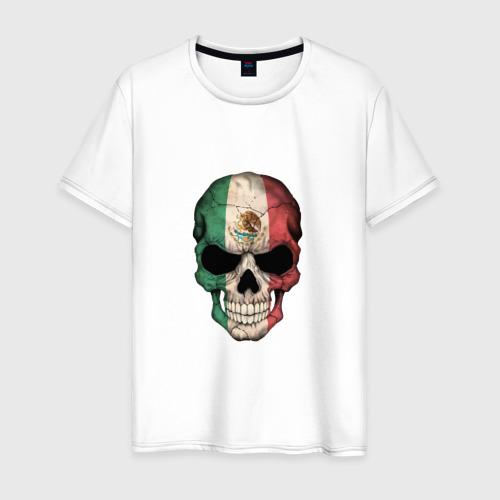 Мужская футболка хлопок Череп - Мексика