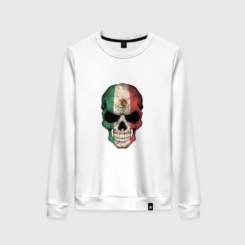 Женский свитшот хлопок Череп - Мексика