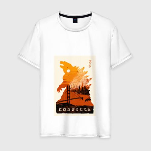 Мужская футболка хлопок GODZILLA POSTER