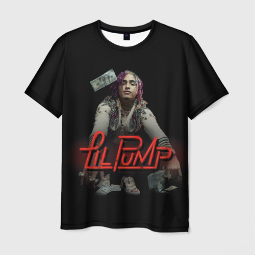 Мужская футболка 3D Lil Pump