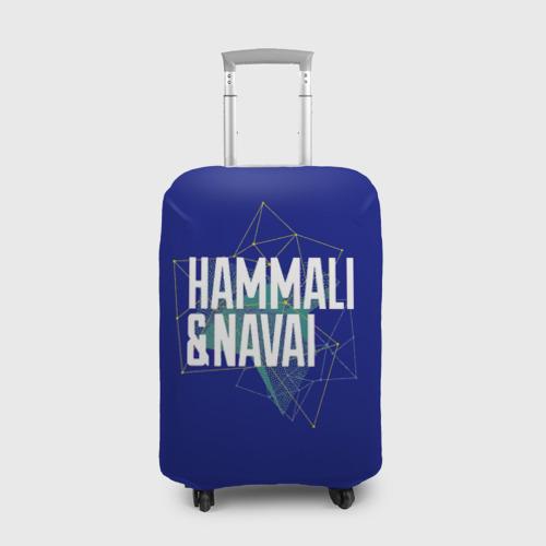 Чехол для чемодана 3D HammAli Navai blue