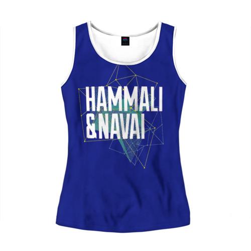 Женская майка 3D HammAli Navai blue