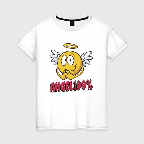 Женская футболка хлопок ANGEL 100%