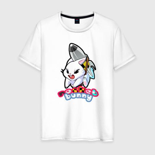 Мужская футболка хлопок Rocket bunny