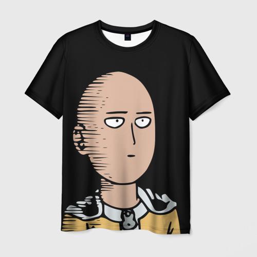Мужская футболка 3D One-Punch Man Ванпачмен