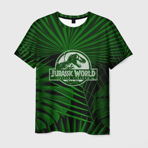 Мужская футболка 3D JURASSIC WORLD