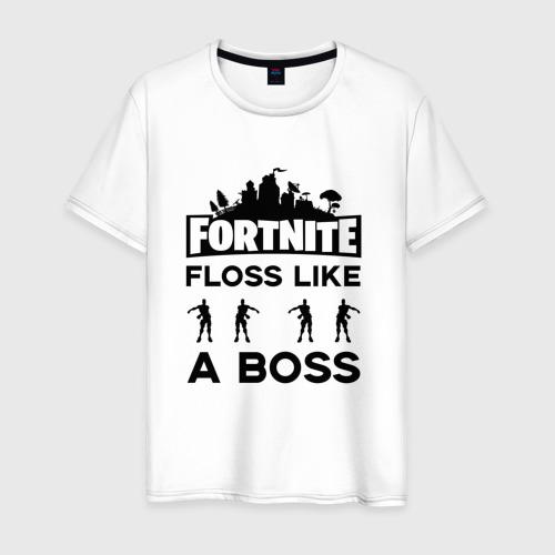 Мужская футболка хлопок Floss like a boss
