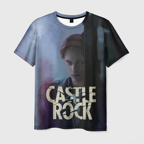Мужская футболка 3D Castle Rock - shawshank prisoner