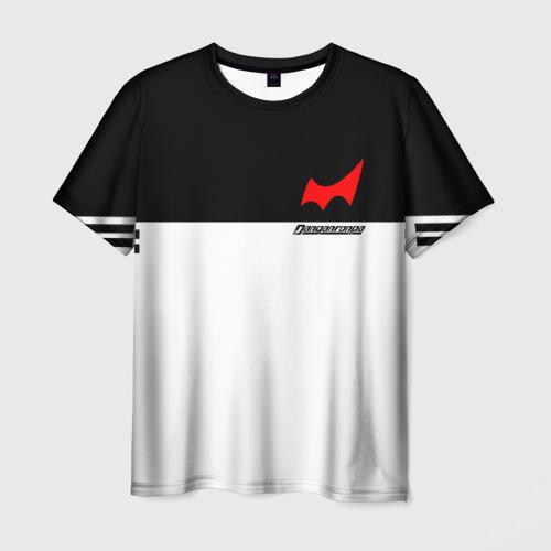 Мужская футболка 3D MONOKUMA SCHOOL ФОРМА