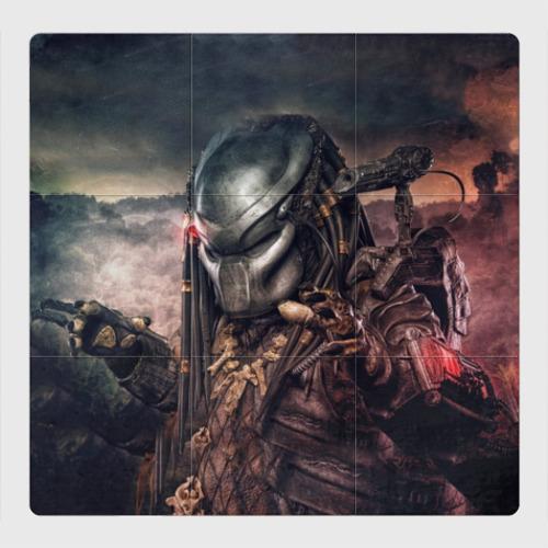 Магнитный плакат 3Х3 Хищник | Predator