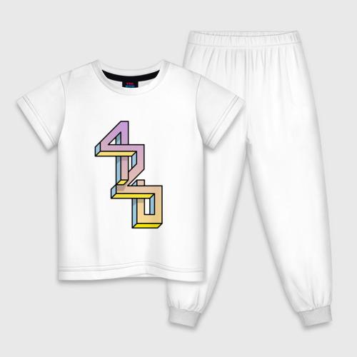 Детская пижама хлопок 420
