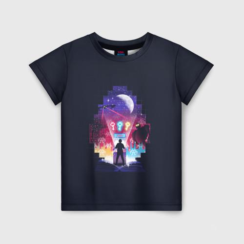Детская футболка 3D Easter egg