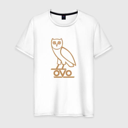 Мужская футболка хлопок OVO owl