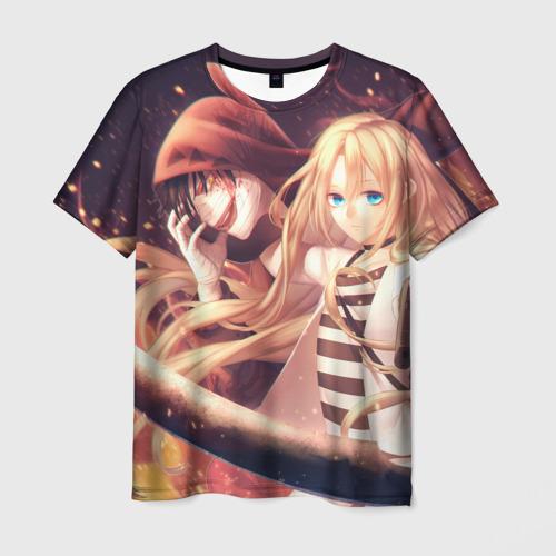 Мужская футболка 3D Satsuriku no Tenshi
