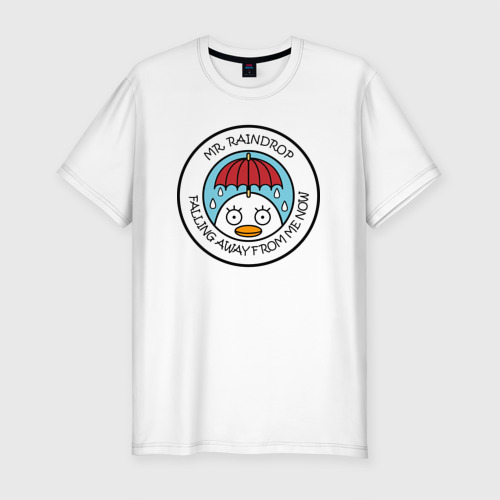 Мужская футболка хлопок Slim Mr Raindrop