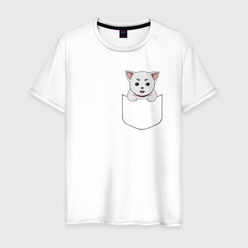 Мужская футболка хлопок Sadaharu Pocket