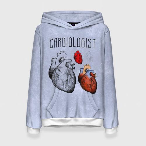 Женская толстовка 3D кардиолог
