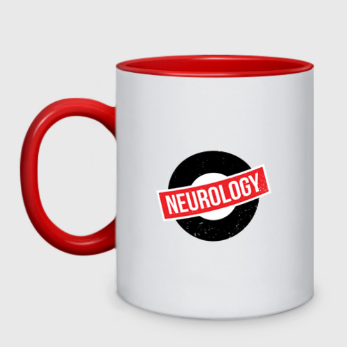 Кружка двухцветная Неврология